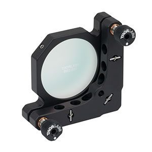 KM200-E03 - Kinematic Mirror Mount for Ø2in Optics with Near IR Laser Quality Mirror
