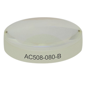 AC508-080-B - f = 80.0 mm, Ø2in Achromatic Doublet, ARC: 650 - 1050 nm