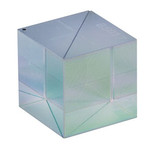 BS017 - 50:50 Non-Polarizing Beamsplitter Cube, 700 - 1100 nm, 20 mm