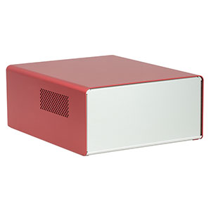 EC2530CR - Enclosure for Customizable Electronics, 250 mm x 300 mm x 122 mm, Red