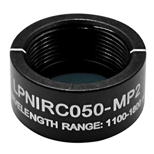 LPNIRC050-MP2 - Ø1/2in SM05-Mounted Linear Polarizer, 1100 - 1800 nm