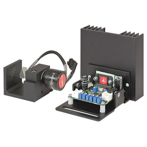 GVS211 - 1D Large Beam (10 mm) Diameter Galvo System, Broadband Mirror (-E02), PSU Not Included