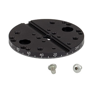 K10CR1A2/M - Rotating Adapter Plate for K10CR1/M, Metric Taps