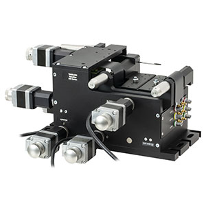 MAX683 - 6-Axis NanoMax Stage, Stepper Motors, Closed-Loop Piezos, Right-Handed, Imperial