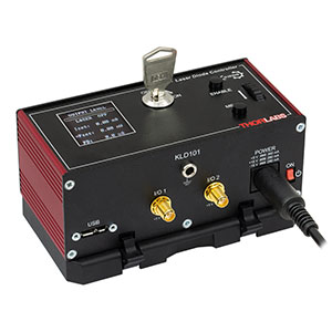 KLD101 - K-Cube™ Laser Diode Driver (Power Supply Sold Separately)