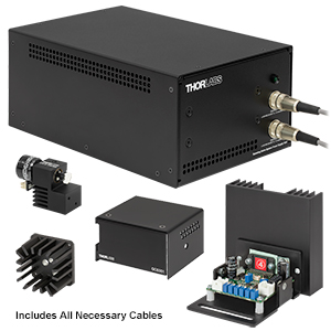 GVSM001-JP - 1D Galvo System with Accessories and Imperial Heatsink, 100 V PSU