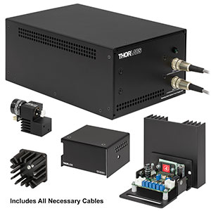 GVSM001-EC/M - 1D Galvo System with Accessories and Metric Heatsink, 230 V PSU