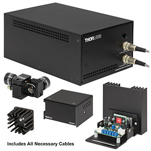 GVSM002-EC - 2D Galvo System with Accessories and Imperial Heatsink, 230 V PSU