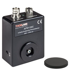 APD130C - InGaAs Avalanche Photodetector, Temperature Compensated, 900 - 1700 nm, 8-32 Taps