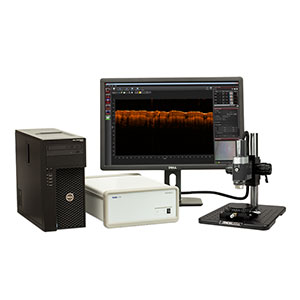 GAN620C1 - Spectral Domain OCT System, 900 nm, 3.0 µm Resolution, 5 to 248 kHz