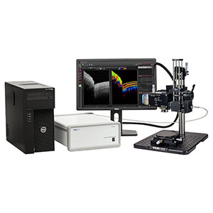 TEL220PSC2 - Spectral Domain PS-OCT System, 1300 nm, 5.5 µm Resolution, 5.5 to 76 kHz