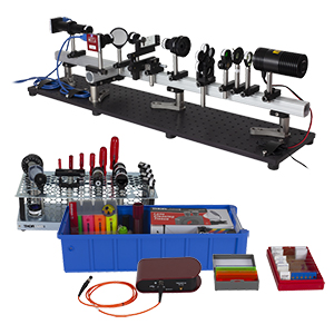 EDU-OMC1/M - Optical Microscopy Course Educational Kit, Metric