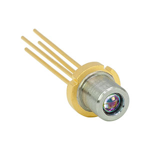 L1550P5DFB - 1550 nm, 5 mW, Ø5.6 mm, D Pin Code, DFB Laser Diode with Aspheric Lens Cap