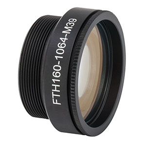 FTH160-1064-M39 - F-Theta Scan Lens, f = 160 mm, 1064 nm Design Wavelength, M39 x 1.0