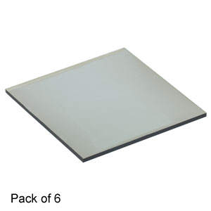 PHG63 - Green-Sensitive Holography Plates, 63 mm x 63 mm, 6 Pack