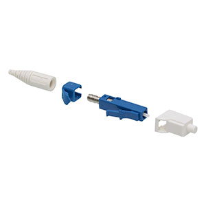 30126L9 - LC®/PC Single Mode Connector, Ceramic Ferrule, Ø126 µm Fiber, Ø900 µm Boot