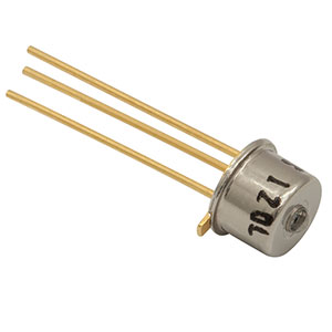 FGA01 - InGaAs Photodiode, 300 ps Rise Time, 800-1700 nm, Ø0.12 mm Active Area