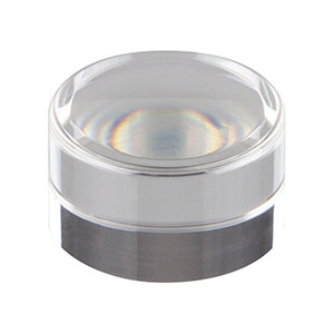 355110-A - f = 6.24 mm, NA = 0.40, Unmounted Aspheric Lens, ARC: 350 - 700 nm