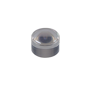354350-C - f = 4.50 mm, NA = 0.43, Unmounted Geltech Aspheric Lens, AR: 1050-1700 nm