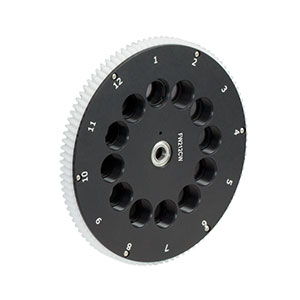 FW212CWNEB - 12-Position Filter Wheel for Ø1/2in Optics with Preloaded ND Filters