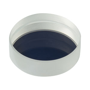 BB07-E02P - Ø19.0 mm Back Side Polished, Broadband Dielectric Mirror, 400 - 750 nm