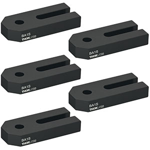 BA1S-P5 - Mounting Base, 1in x 2.3in x 3/8in, 5 Pack