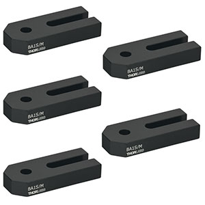 BA1S/M-P5 - Mounting Base, 25 mm x 58 mm x 10 mm, 5 Pack