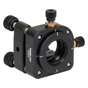 K5X1 - 5-Axis Locking Kinematic Mount for Ø1in Optics