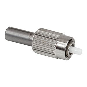 B30500C - FC/PC Multimode Connector, Ø500 µm Bore, Ceramic Ferrule, for BFT1