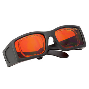 LG12A - Laser Safety Glasses, Amber Lenses, 11% Visible Light Transmission, Comfort Style