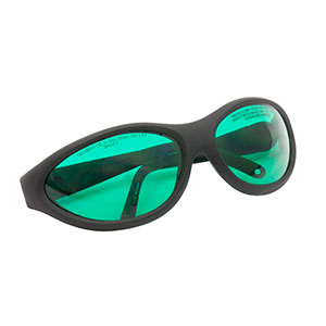 LG13B - Laser Safety Glasses, Blue Lenses, 39% Visible Light Transmission, Sport Style