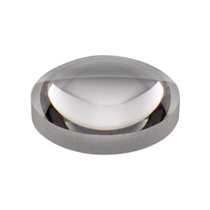 AL108 - Ø10 mm S-LAH64 Aspheric Lens, f=8 mm, NA=0.55, Uncoated