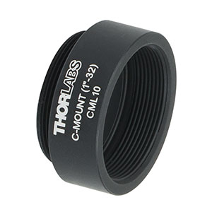 CML10 - C-Mount Extension Tube, 10 mm Long