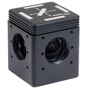 DFM1 - Kinematic Fluorescence Filter Cube, 30 mm Cage Compatible, Right-Turning, 1/4in-20 Tapped Holes