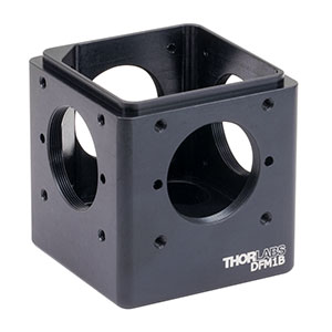 DFM1B - Kinematic 30 mm Cage Cube Base, 1/4in-20 Tapped Holes