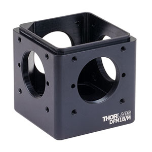 DFM1B/M - Kinematic 30 mm Cage Cube Base, M6 Tapped Holes