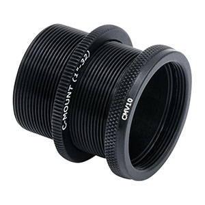 CMV10 - C-Mount Adjustable Extension Tube, 0.81in Travel Range