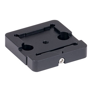 BSH1 - Platform Mount for 1in or 25.0 mm Beamsplitters and Right-Angle Prisms, 8-32 Tap