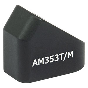 AM353T/M - 35.3° Angle Block, M4 Tap, M4 Post Mount