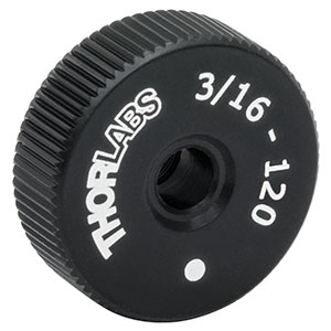 F19MSK1L - Large-Diameter 3/16in-120 Removable Adjuster Knob