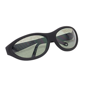 LG16B - Laser Safety Glasses, Gray Lenses, 41% Visible Light Transmission, Sport Style