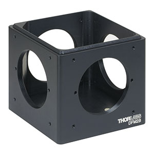 DFM2B - Kinematic 60 mm Cage Cube Base, 1/4in-20 Tapped Holes