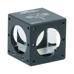 CCM1-WPBS254 - 30 mm Cage Cube-Mounted Wire Grid Beamsplitter Cube, 400 - 700 nm, <nobr>8-32 Tap</nobr>