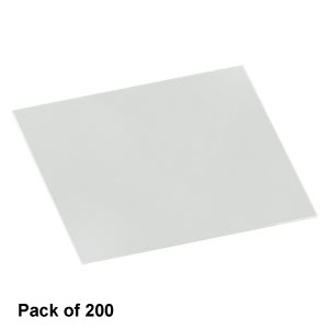 CG00C2 - Cover Glasses, #0 Thickness, 22 x 22 mm, Pack of 200