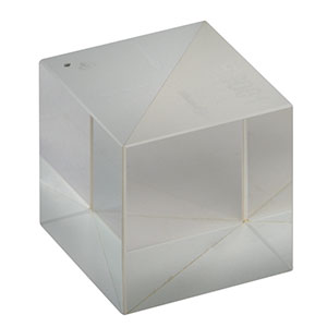 BS061 - 70:30 (R:T) Non-Polarizing Beamsplitter Cube, 400 - 700 nm, 1/2in
