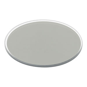ND2R10B - Unmounted Reflective Ø50 mm ND Filter, Optical Density: 1.0