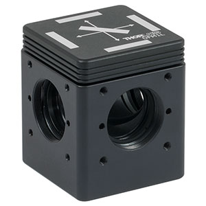 DFM1L - Kinematic Fluorescence Filter Cube, 30 mm Cage Compatible, Left-Turning, 1/4in-20 Tapped Holes