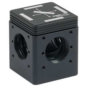 DFM1L/M - Kinematic Fluorescence Filter Cube, 30 mm Cage Compatible, Left-Turning, M6 Tapped Holes