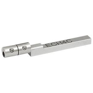 ECH4C - Ø4.0 mm End-Cap Holder with Flexure Clamp