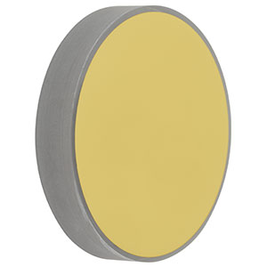 CM508-750-M01 - Ø2in Gold-Coated Concave Mirror, f = 750.0 mm